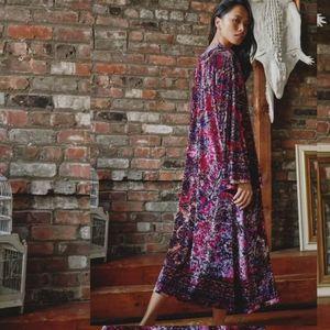 Free People Enchanted Kimono in Velvet Fairytale